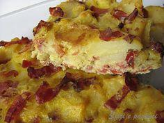 Sfizi e pasticci: Tortino di patate e speck