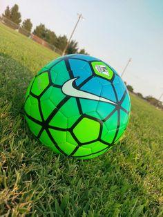 I love new soccer balls!