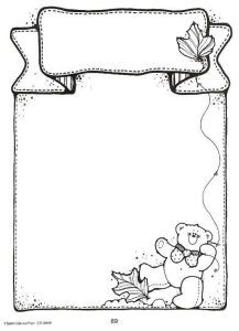 Boarder Designs, Page Borders Design, Borders For Paper, Borders And Frames, Bullet Journal Ideas Pages, Bullet Journal Inspiration, Fall Coloring Pages, Coloring Books, Scrapbook Frames