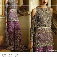 #embellishments #details #bridal #gharara #sharara