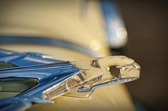 1955 Pontiac Star Chief Hood Ornament