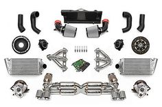 FABSPEED SUPERSPORT TURBO FS-700 PACKAGE for 2006-09 PORSCHE 997 TURBO TIPTRONIC