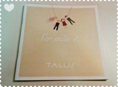 Catálogo (emocionante!) da Tallis Joias, produzido com fotos e depoimentos de mães da vida real. #grafica #catalogo #diadasmaes