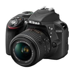 Camara Reflex Nikon D3300 24.2 MP Negro + 18-55 mm E