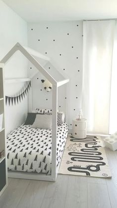 Frame for kid's fort in the playroom
