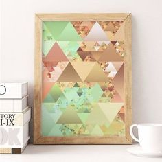 poster soft triangles
