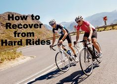 Recovery Tips from @Stewart Walker magazine