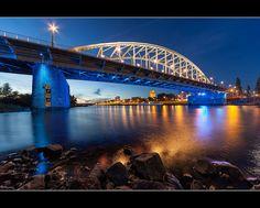 John Frost bridge Arnhem, Netherland