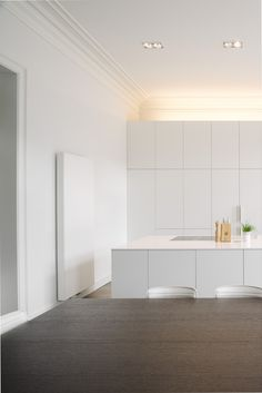Kitchen And Bath Design, Interior Design Kitchen, Interior Minimalista, Aarhus, Minimalist Kitchen, Küchen Design, Dream Decor, Apartment Design, Home Kitchens