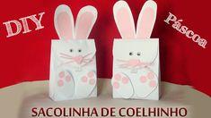 DIY Sacolinha Coelhinho da Páscoa | Aprenda com Edu