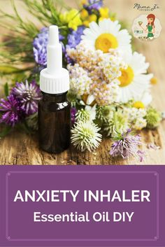 Life can present us with stressful situations and it is important to take a minute to stop, breathe, and relax.  This #DIY Anxiety Inhaler uses some of our favorite essential oils for anxiety and is perfect to help calm you during those stressful moments, in the midst of a panic attack or when anxiety settles in. #essentialoils