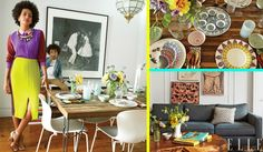 Eclectic Avenue - Solange Knowles - I love the decor!