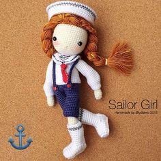 My crochet doll(part 2) @ Sailor Girls ⚓️