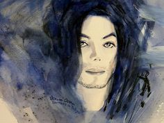 Michael Jackson - This Life Dont Last For Ever Painting  Hitomi Osanai