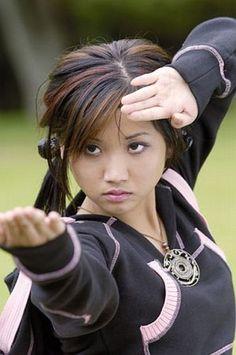 Brenda Song has a black belt in Tae Kwon Do [ Swordnarmory.com ] #Martial #arts #swords