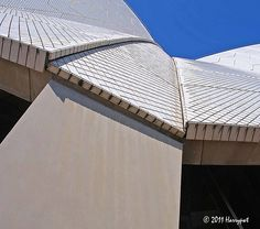 urban geometric architecture.roof of the very well known sydney opera house building .....