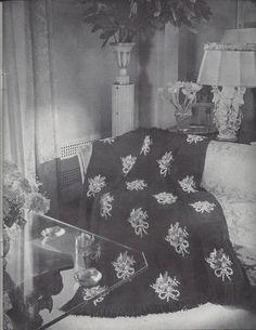 💐 Crochê Afegão Columbia Padrão Ponto Cruz Flores itens decorativos Criações -  /  💐 Crocheting Standard Afghan Cross Stitch Flowers Columbia decorative items Creations -