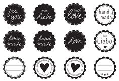 Latest Cost-Free Printable Stickers png Concepts Among the list of (many) solace from the world-wide-web will be printables. Plotter Silhouette Cameo, Silhouette Clip Art, Diy Crafts To Do, Diy Craft Projects, Printable Tags, Free Printables, Printable Stickers, Rabbit Silhouette, Halloween Icons
