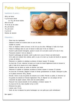 Pains Hamburgers - Doulou Cooky