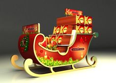 Korkunov 3D stands on Behance
