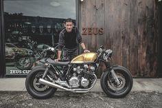 Honda CB650 Cafe Racer by Zeus Custom #motorcycles #caferacer #motos | caferacerpasion.com
