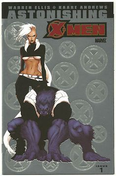 ASTONISHING X-MEN #1 Rare 1/25 VARIANT by Kaare Andrews! ~NM~ http://r.ebay.com/fHKN16