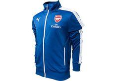 Puma Arsenal T7 Anthem Jacket - Blue...available at SoccerPro.
