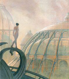 The Obscure Cities by Francois Schuiten & Benoit Peeters