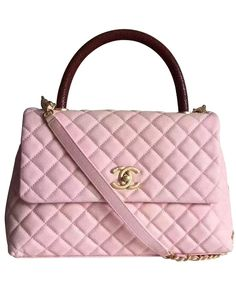 Chanel Coco Grained Calfskin Flap Bag with Lizard Handle A92992 Shoulder  Bags For School, Small afe38d7dad