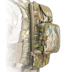 Assaulters Zip On Platform GP 70 oz. Hydration Horizontal MOLLE - TYR Tactical - Plate Carrier, Body Armor, Tactical Gear, Tactical Armor