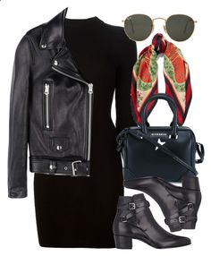Untitled #5063 by rachellouisewilliamson on Polyvore featuring Maison Margiela, Acne Studios, Yves Saint Laurent, Gucci, Givenchy and Ray-Ban