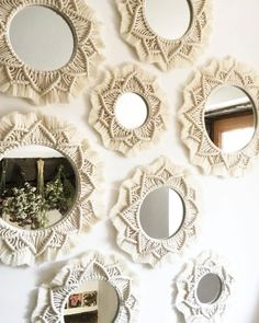 macrame plant hanger+macrame+macrame wall hanging+macrame patterns+macrame projects+macrame diy+macrame knots+macrame plant hanger diy+TWOME I Macrame & Natural Dyer Maker & Educator+MangoAndMore macrame studio Diy Macrame Wall Hanging, Macrame Mirror, Macrame Art, Macrame Projects, Macrame Knots, Macrame Curtain, Hanging Tapestry, Diy Projects, Diy Deco Rangement