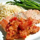 Foto recept: Zalm met tomaat