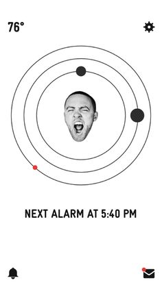 "GO:OD AM. Shine and rise. It's the official app for Mac Miller's forthcoming album – available September 18th. We made an alarm clock that gives you cool secret stuff. Alarm tones feature music from Mac's new album. Secret stuff shall consist of original content and messages from Mac, sent directly to the app inbox, via the ""MAC TIME"" feature. Pretty dope."
