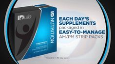 """Individually Designed"" Nutrition Just For You! See More at www.IDLife.com/Health4Life"