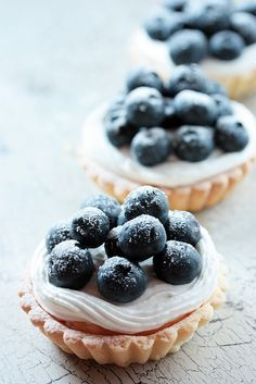 blueberry tarts inspiration
