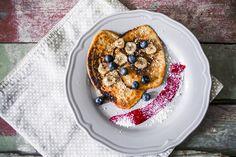 Vegane Vanilla Pancakes von La Veganista Rezept  Eigentlich war ich nie ein großer Pancake Fan, aber nach diesen veganen Pancakes bin ich es geworden! Das Rezept gibt es auf meinem Blog!