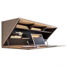 Segreto Desk Molteni&C - design Ron Gilad - for sale on line by clicking here http://goo.gl/GfH2Pp