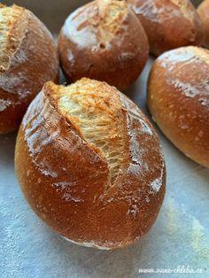 Vesnické žemle (s polišem) – Vůně chleba Ciabatta, Gnocchi, Food And Drink, Baking, Cake, Sweet, Hampers, Food, Brot