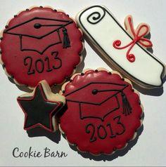 Graduation Cookies for B's graduation