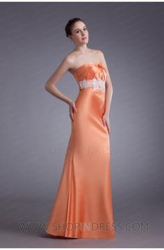 Orange Prom Dress #orange #prom