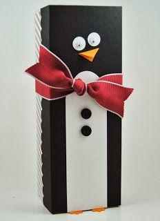 Penguin box, Laura's Works of Heart