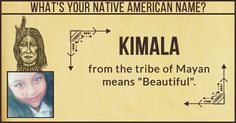 What's Your Native American Name ? Nativity, Native American, Names, The Nativity, Native Americans, Birth, Native Indian