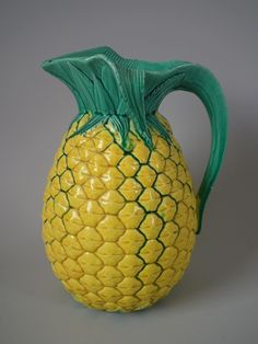 Minton Majolica pineapple jug