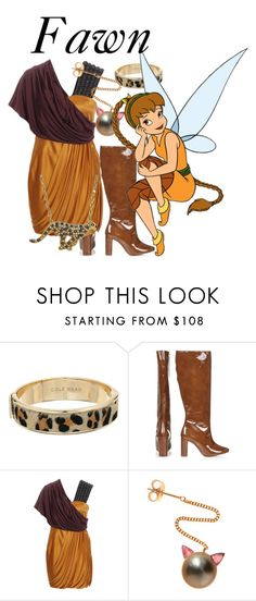 """Fawn"" by blueangel16-001 ❤ liked on Polyvore featuring Cole Haan, Topshop, Matthew Williamson, Sabina Kasper and Animal Planet"