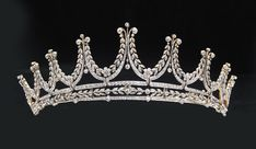A closer look at another of the tiaras featured in Fred Leighton's collection.