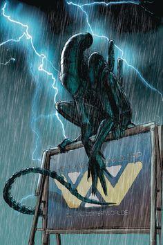 Aliens Resistance Cvr B Jones - Discount Comic Book Service Alien Vs Predator, Predator Alien, Alien Films, Aliens Movie, Concept Art Alien, Aliens Colonial Marines, Les Aliens, Aliens 1986, Giger Alien