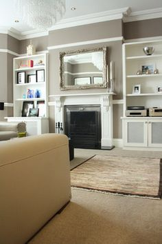 London Family Room Design Ideas, Pictures, Remodel and Decor