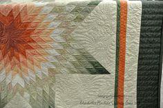 Lone Star, made by Sandy F. machine quilting by Elizabeth karnes  Flickr…
