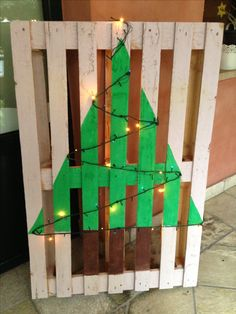 Pallet Christmas 🎄 tree 🌲
